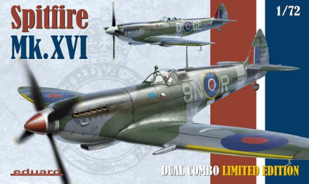 Eduard 1/72 Spitfire Mk.XVI Dual Combo Limited Edition